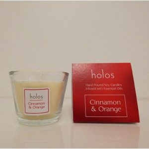 Cinnamon & Orange Soy Candle by Holos.ie