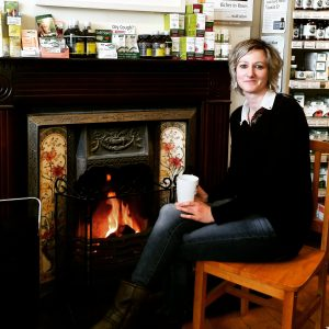 Niamh in Nature's Gold Greystones