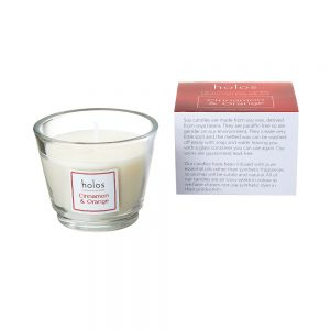 Holos Cinnamon and Orange Soy Wax Candle