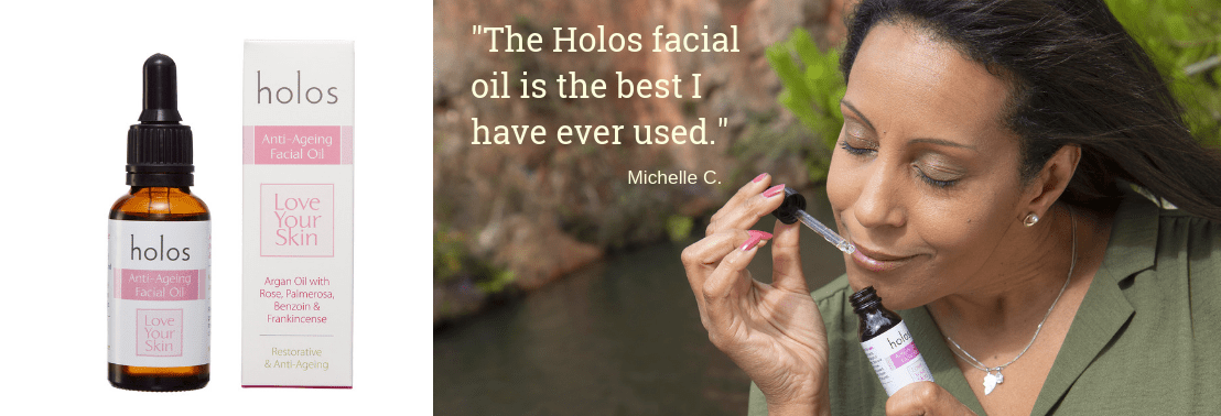 Holos Love Your Skin anti-ageing Facial Oil