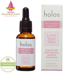 Holos Anti-ageing Facial Oil awards