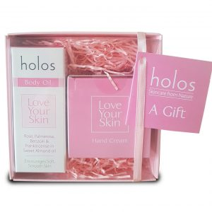 Holos Love Your Skin body care gift set