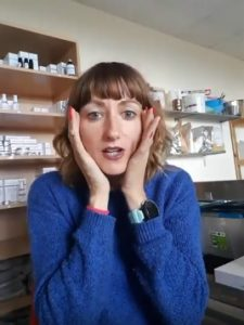 Niamh explains how to use facial oil