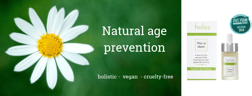 natural age prevention Holos Skincare