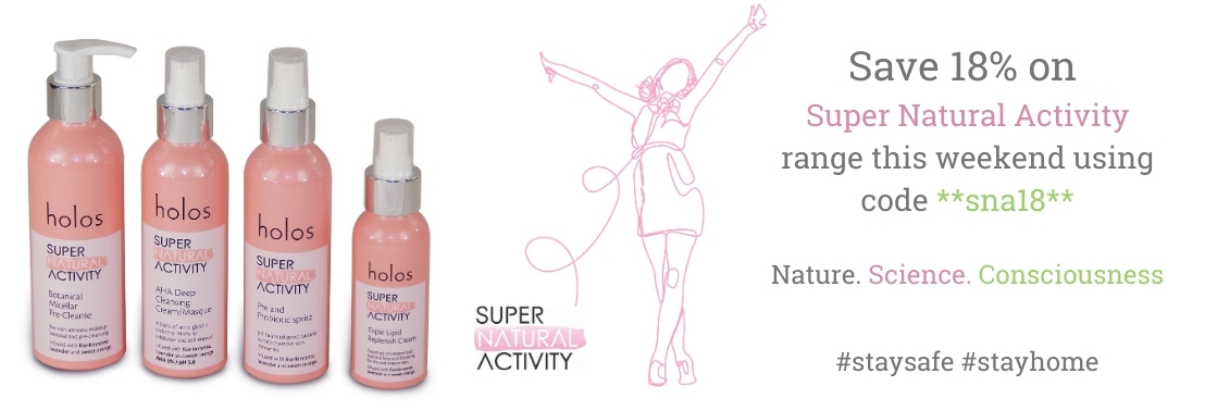 save 18% on Holos Super Natural Activity