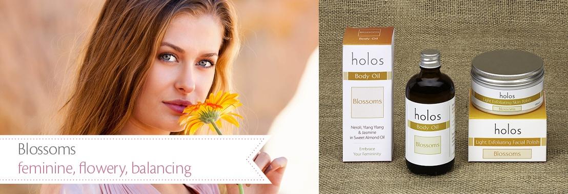 holos-skincare-blossoms range banner