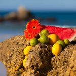 Fruits on the rock