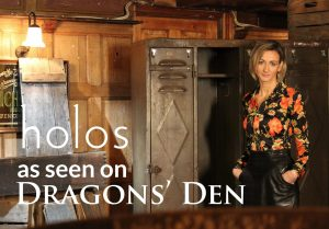 Watch Holos CEO on Dragons Den