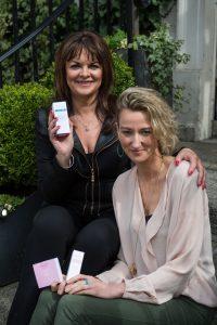 Holos CEO Niamh Hogan and Dragon Invester Eleanor McEvoy