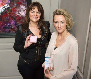 Niamh Hogan Holos CEO and Dragons Den Investor Eleanor McEvoy