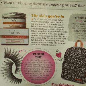 A lucky U magazine winner - Blossoms Exfoliating Facial Polish