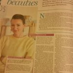 Holos Skincare in Weekend Magazine Irish Independent