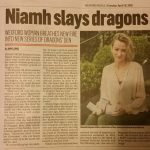 Niamh Hogan Holos Skincare gets Dragon Investment Wexford Echo