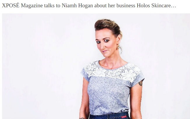 Niamh Hogan in Xpose.ie 8 Jan 2016
