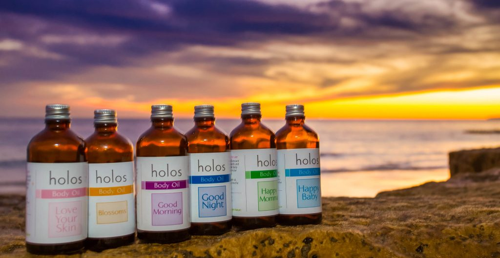 Holos Body Oils Sunset