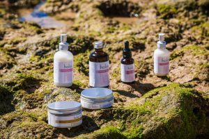 Holos Natural Skincare products