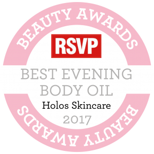 BEST EVENING BODY OIL Award RSVP 2017 Good Night Body Oil by Holos