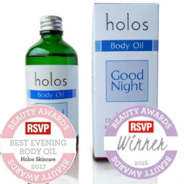 Good Night Body Oil by Holos awarded
