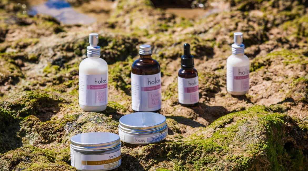 Aromatherapy skincare Love Your Skin range by Holos