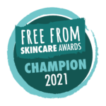Free From Skincare Award_Champion_2021