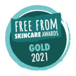 Free From Skincare Award_gold_2021