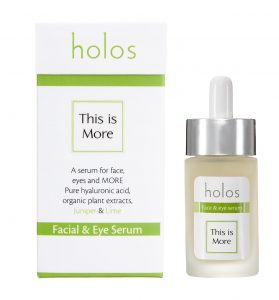 Holos this is More Facial and Eye Serum