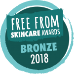 Free From Skincare Awards 2018- Bronze for Holos This is More Cleansing Oil