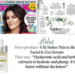 Holos Serum in Womans Way Magazine April 2019