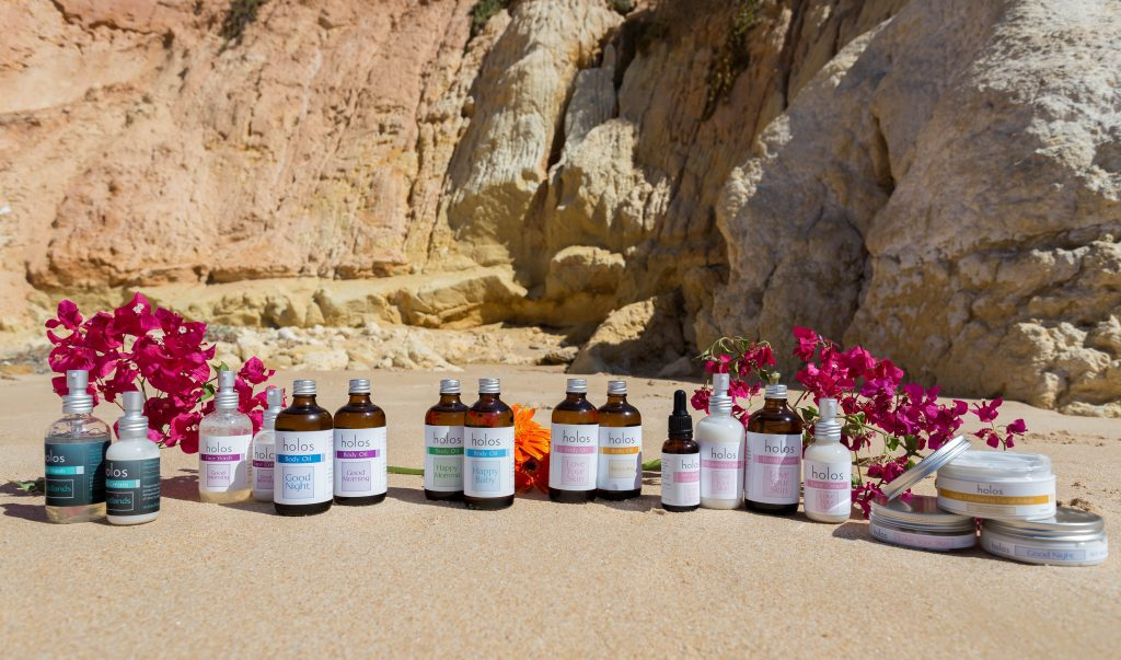 Holos Skincare the best narural aroma skincare in Ireland