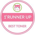 First Runner Up Best Toner