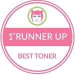 First Runner Up Best Toner