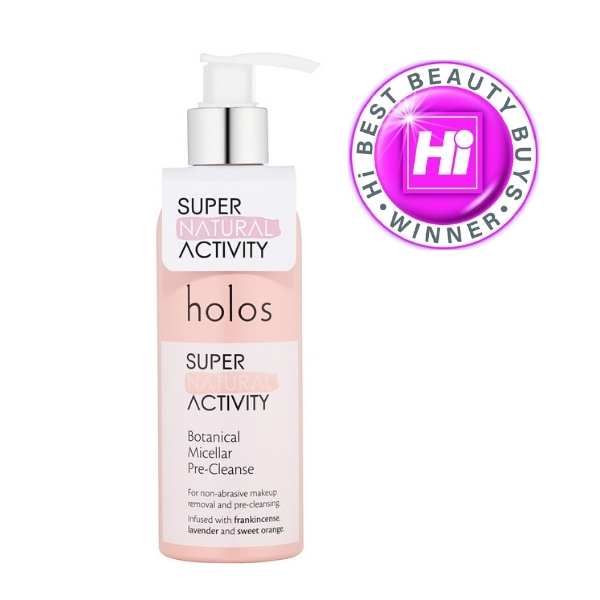 Holos Super Natural Activity Botanical Micellar Pre-cleanse awarded