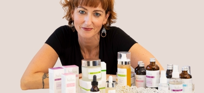 Niamh Hogan CEO Holos Skincare