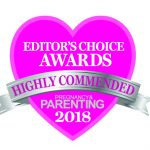 PP Editors choice logo_Highly commended 2018 for Holos Happy Momma Body Oil
