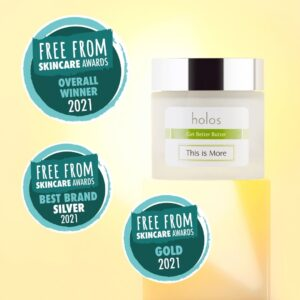 Free From Skincare Awards 2021 Holos This is More Get Better Butter