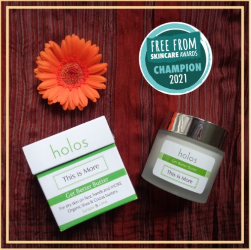 Free From Skincare Awards TIM Butter 2021