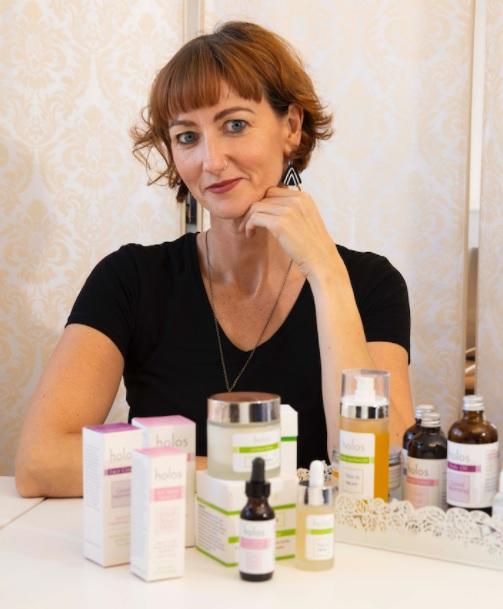 Niamh Hogan, CEO Holos Skincare